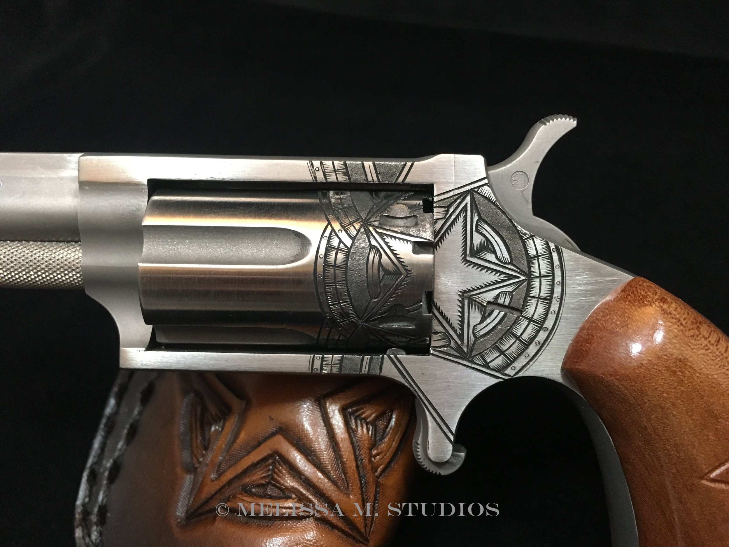 North American Arms .22 Magnum | Engraved Pistol