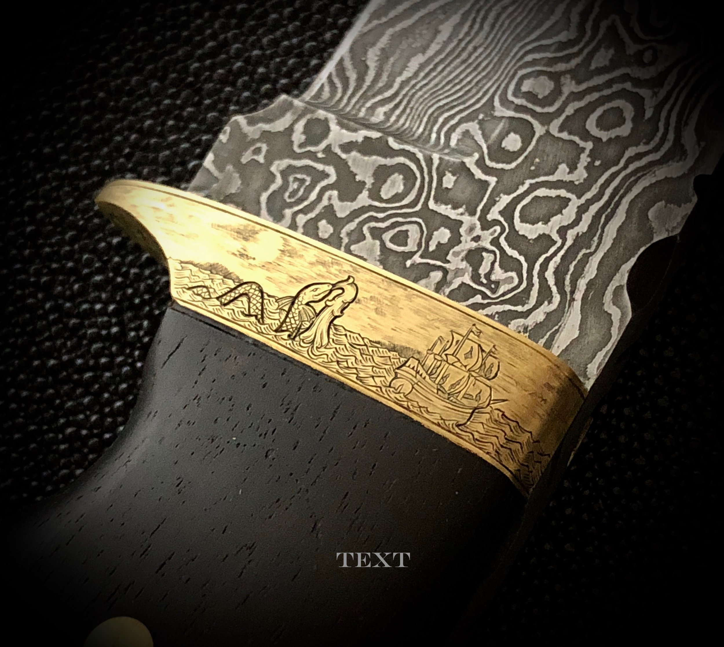 Custom Engraved Knife