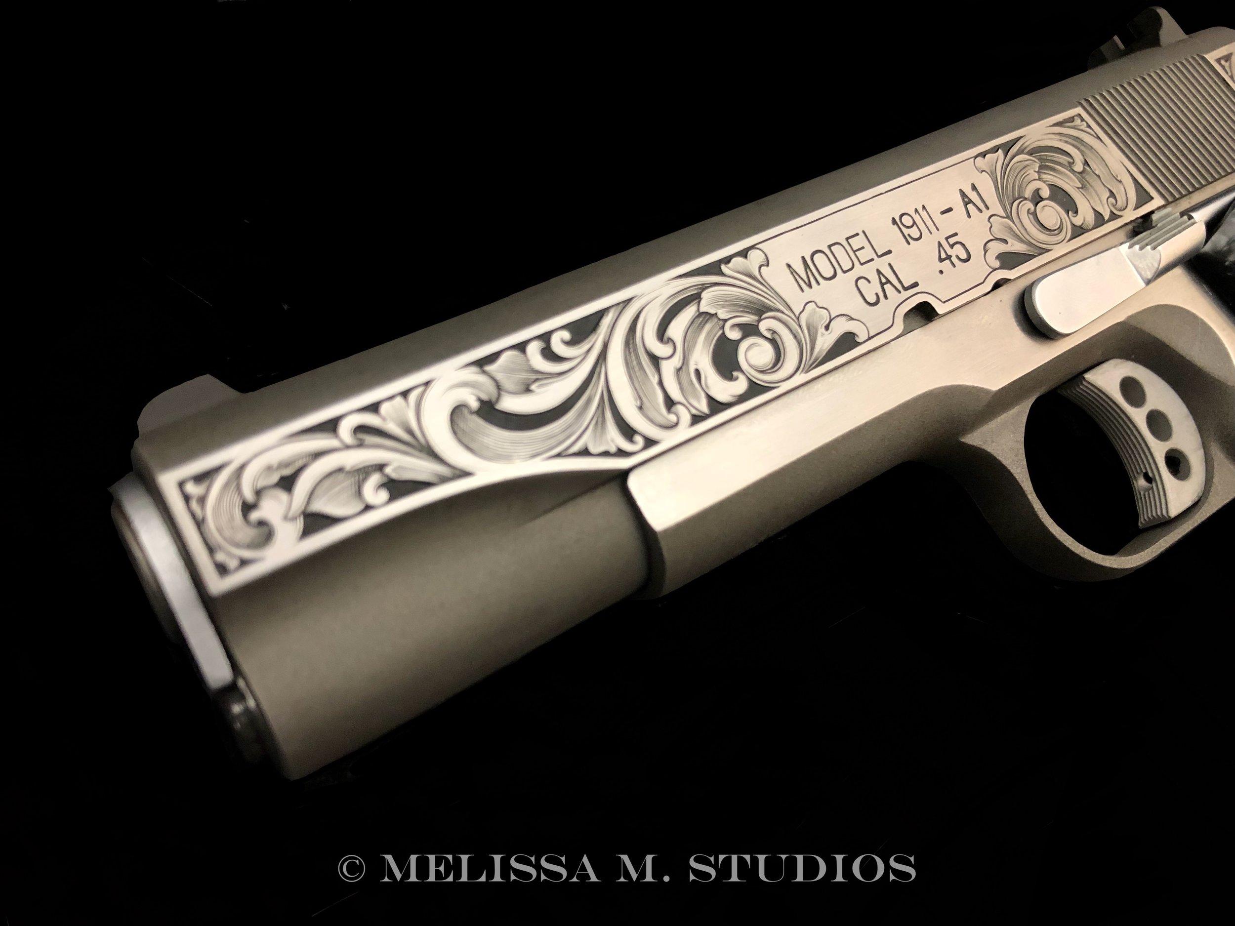 1911 Firearms Engraver