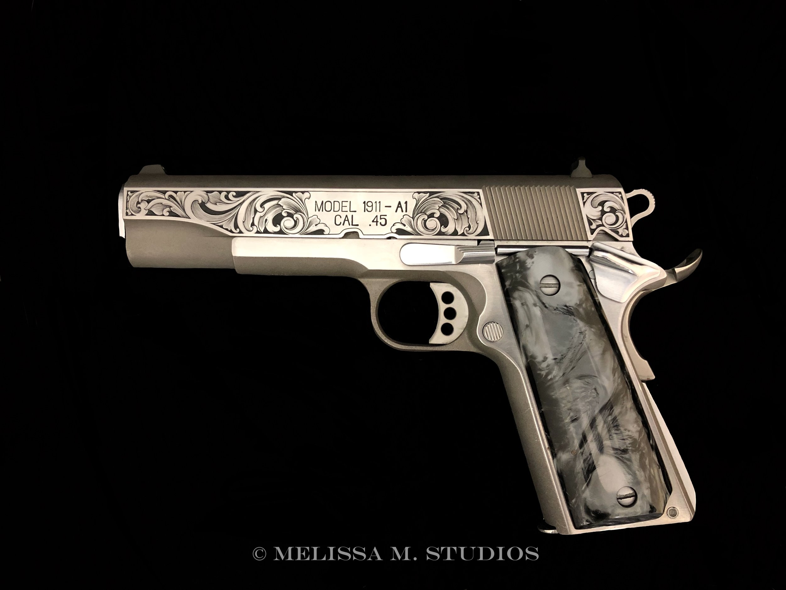 Hand Engraved 1911