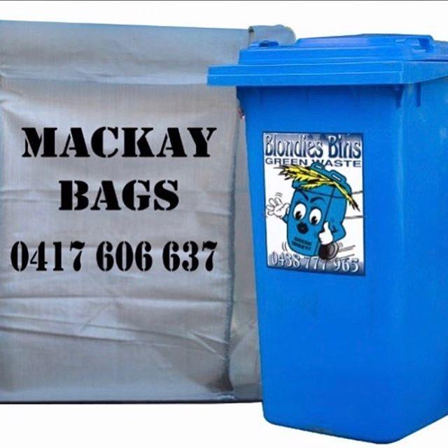 Green Waste service #Garden Bag or a #BlondiesBin Service is for your Green Waste removal. #mackaypride #mackaygreenwaste