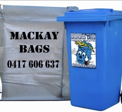 Blondies Bins & Mackay Bags - Garden Waste Mackay