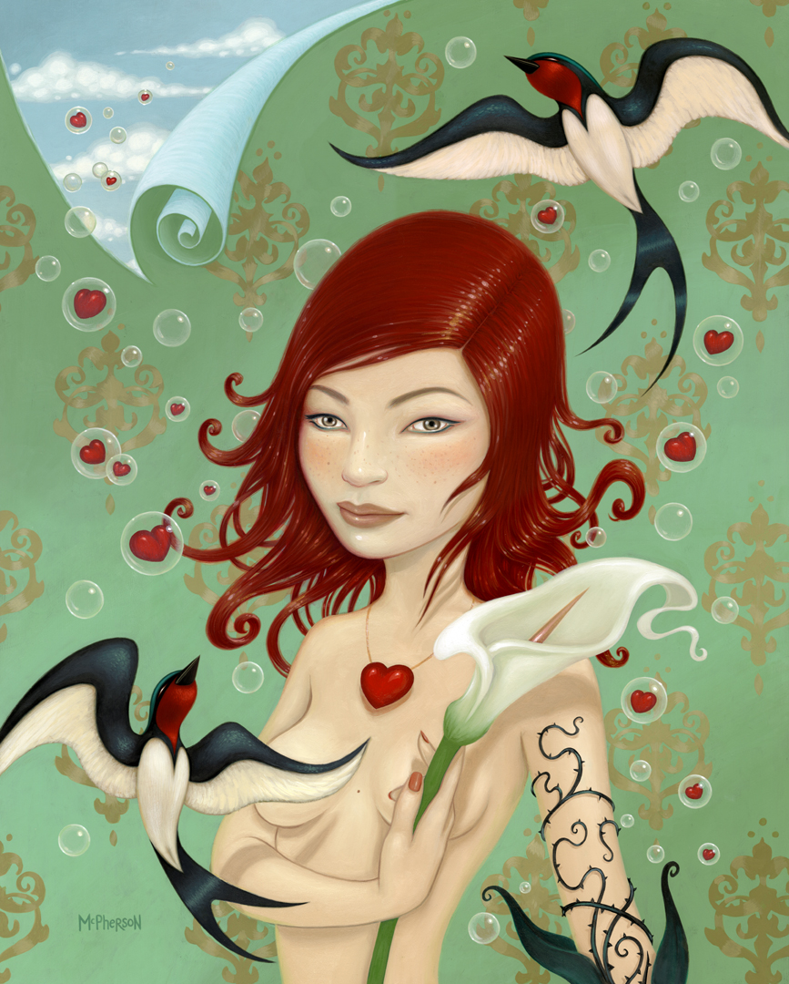 how they fly away so easily   portrait by  tara mcpherson