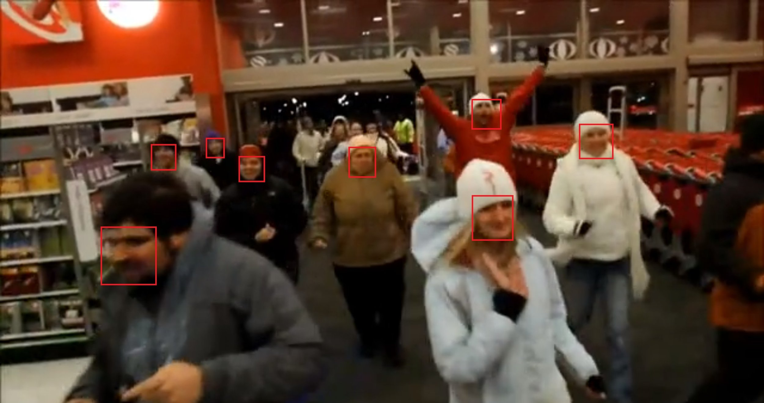 video search engine face detection