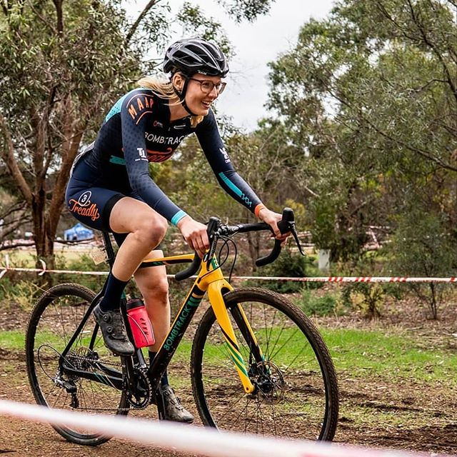 Feelin' #blessed to have @lanaadams holdin' it down out there in the BTR colours one last time. Sunday's racing here in Adelaide looked the goods, let's hope it's a sign of a wet and wild season to come! 📸 @rideadelaide ... #cx #cyclocross #ciclocross #crossiscoming #crossishere #querfeldein #bombtrack #fortheloveofmud