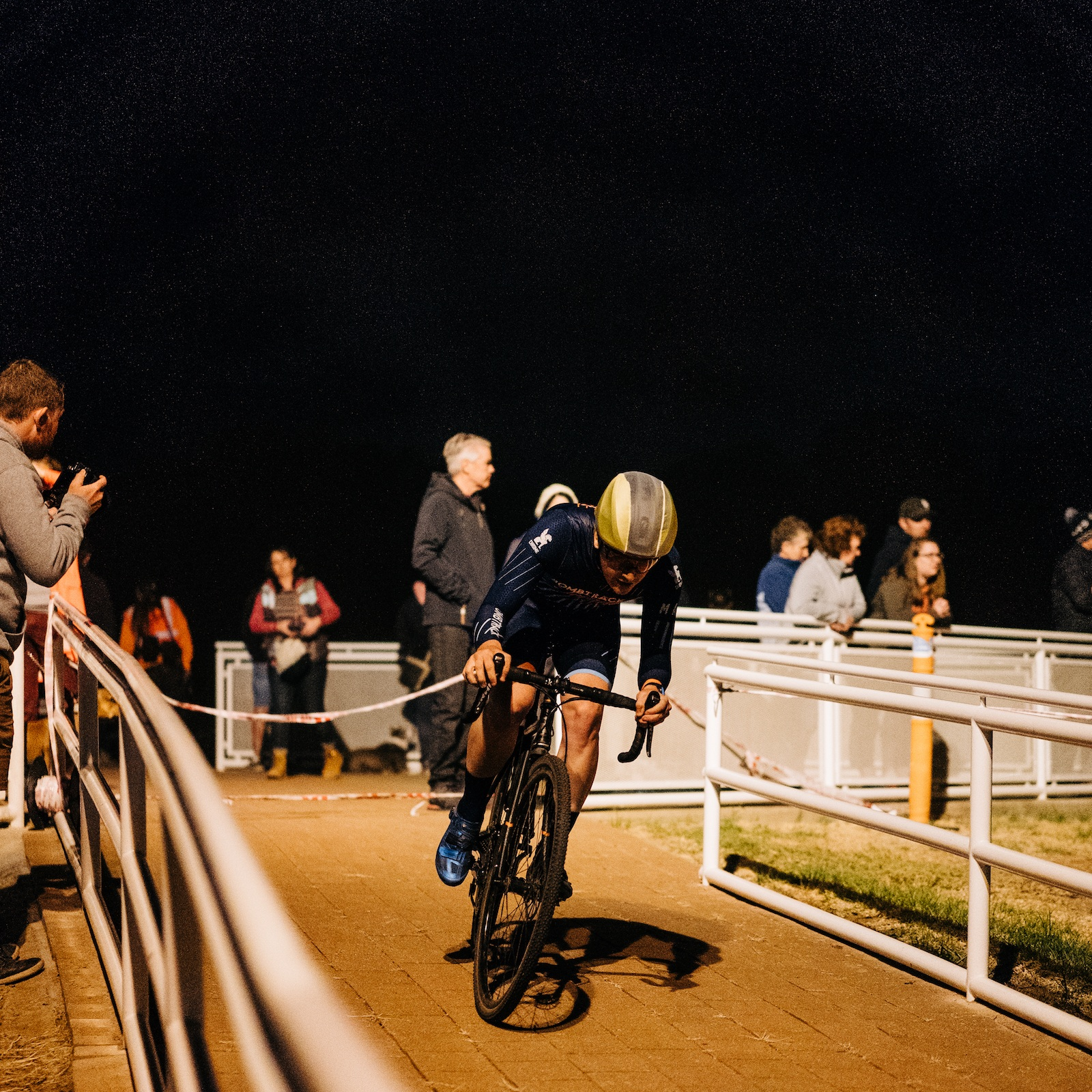 The Blind Date CX race that PACC put on at the Adelaide Superdrome was a highlight of the off-season for us. Photo c/o Andy Rogers