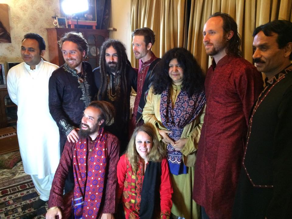 with Abida Parveen, Pakistan