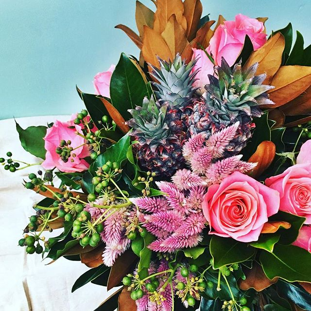 #fetedefleur #pinkroses#shireflorist