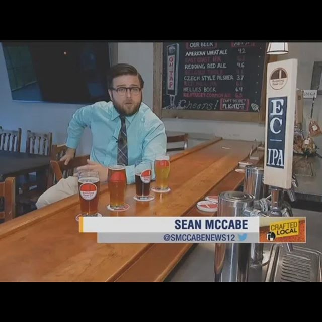 Sean thanks for stopping by and having a few beers, we had a great time! 😎 And check out the spot on News12 http://connecticut.news12.com/story/40808849/crafted-local-redding-bear-company  #ctbeer #ctbeertrail #reddingct #westonct #wiltonct #ridgefieldct #norwalkct #beerlover #brewery #brewerylife #craftbeer #craftbrewery #craftbrew