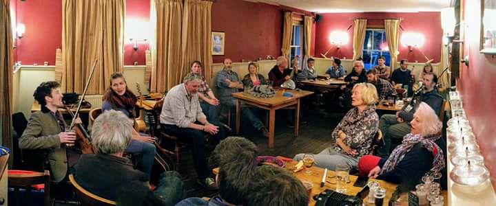 Folk at the Elsted Inn Rowan Piggott.jpg