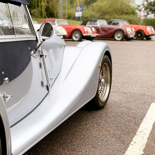 We loved hosting a @morganmotor club for lunch today. 35 lovely people with their incredibly beautiful cars. #sundayroast #party #carclub