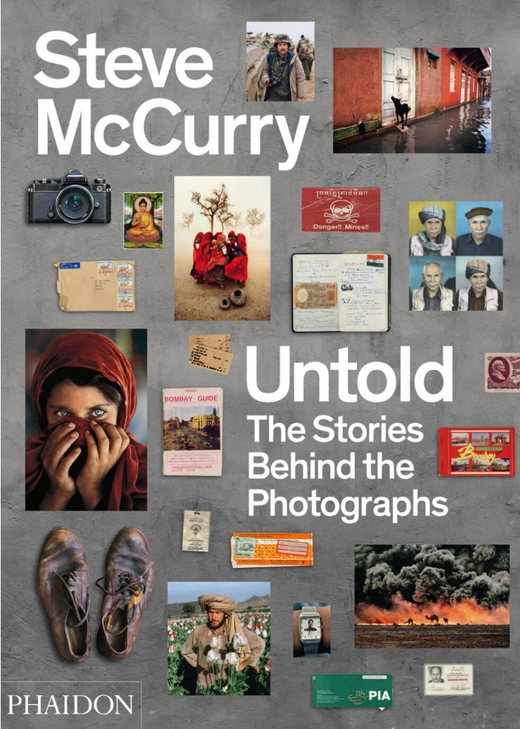 steve mccurry: untold - The Stories Behind The PhotographsAvailable At Harvey Nichols, £39.95,