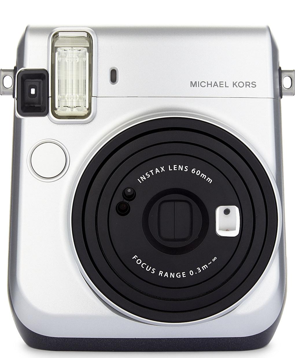 Michael Kors Camera - Michael Michael Kors Instax Mini 70 Instant CameraAvailable at Selfridges, £120.00