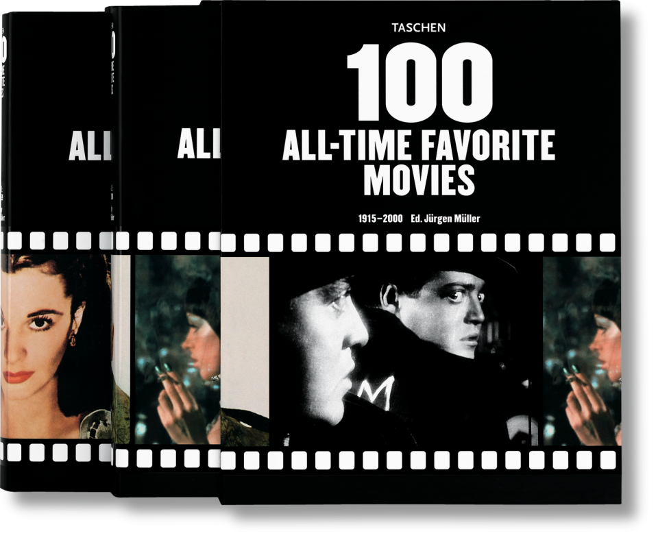 100 All-Time favourite movies - Available at Taschen, £35.00