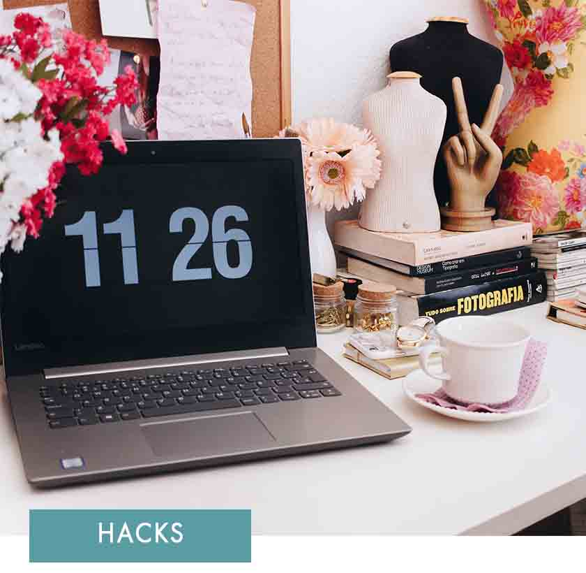 Our top time management hacks -