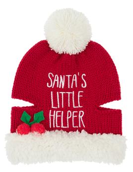 Santa's Little Helper Beanie Hat, £6.00