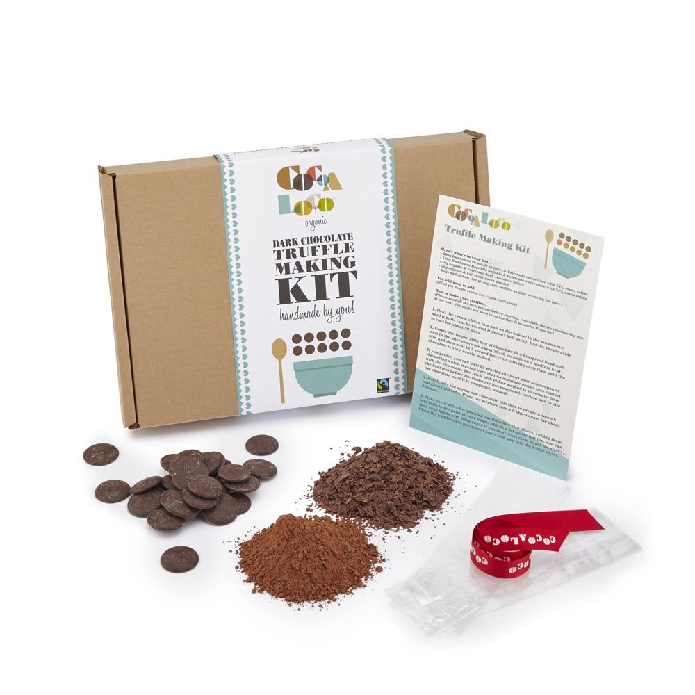 Dark Chocolate Truffle Making Kit, £9.99