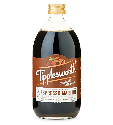 Tipplesworth Espresso Martini Cocktail Mixer, £6.99