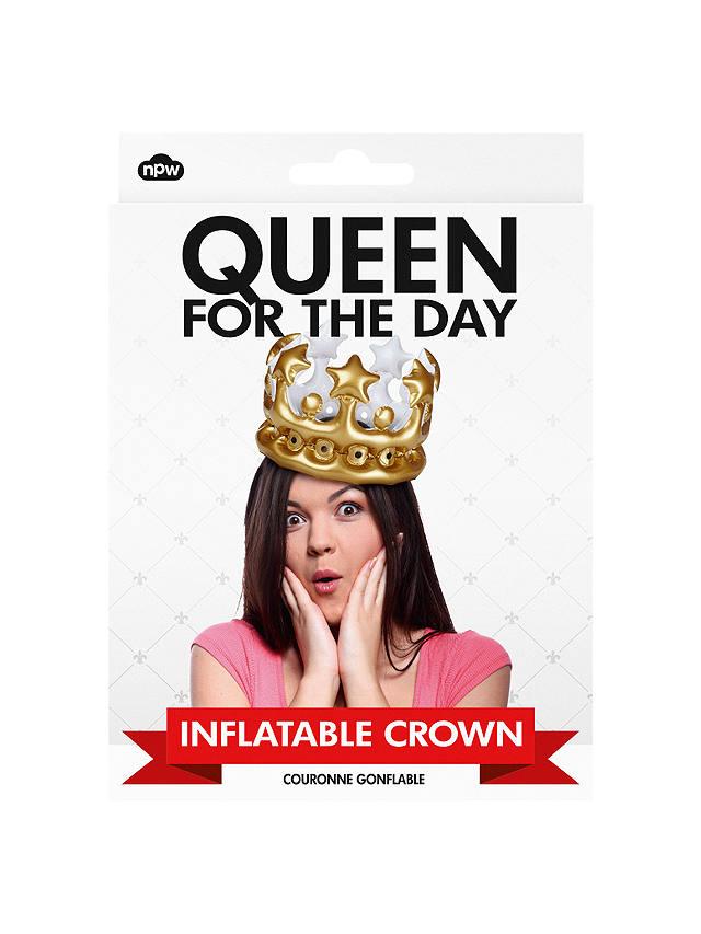 NPW Inflatable Queen Crown, £4.50