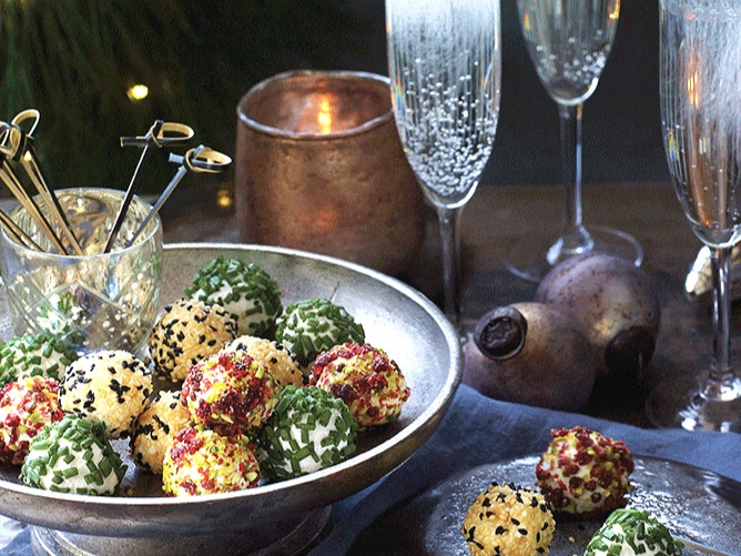 FIVE DINNER PARTY CANAPES - To make a good impression