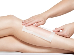 Schedule a waxing service at Alpha School of Massage