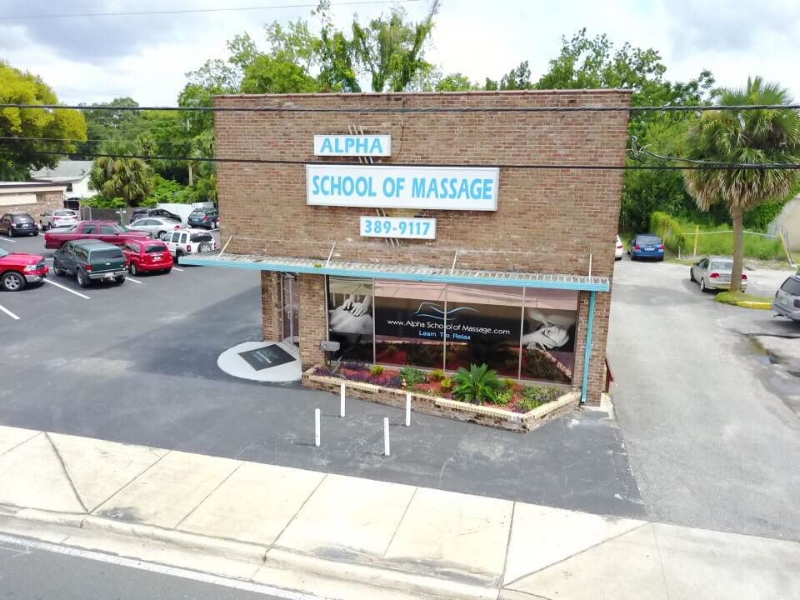 Alpha School of Massage Storefront