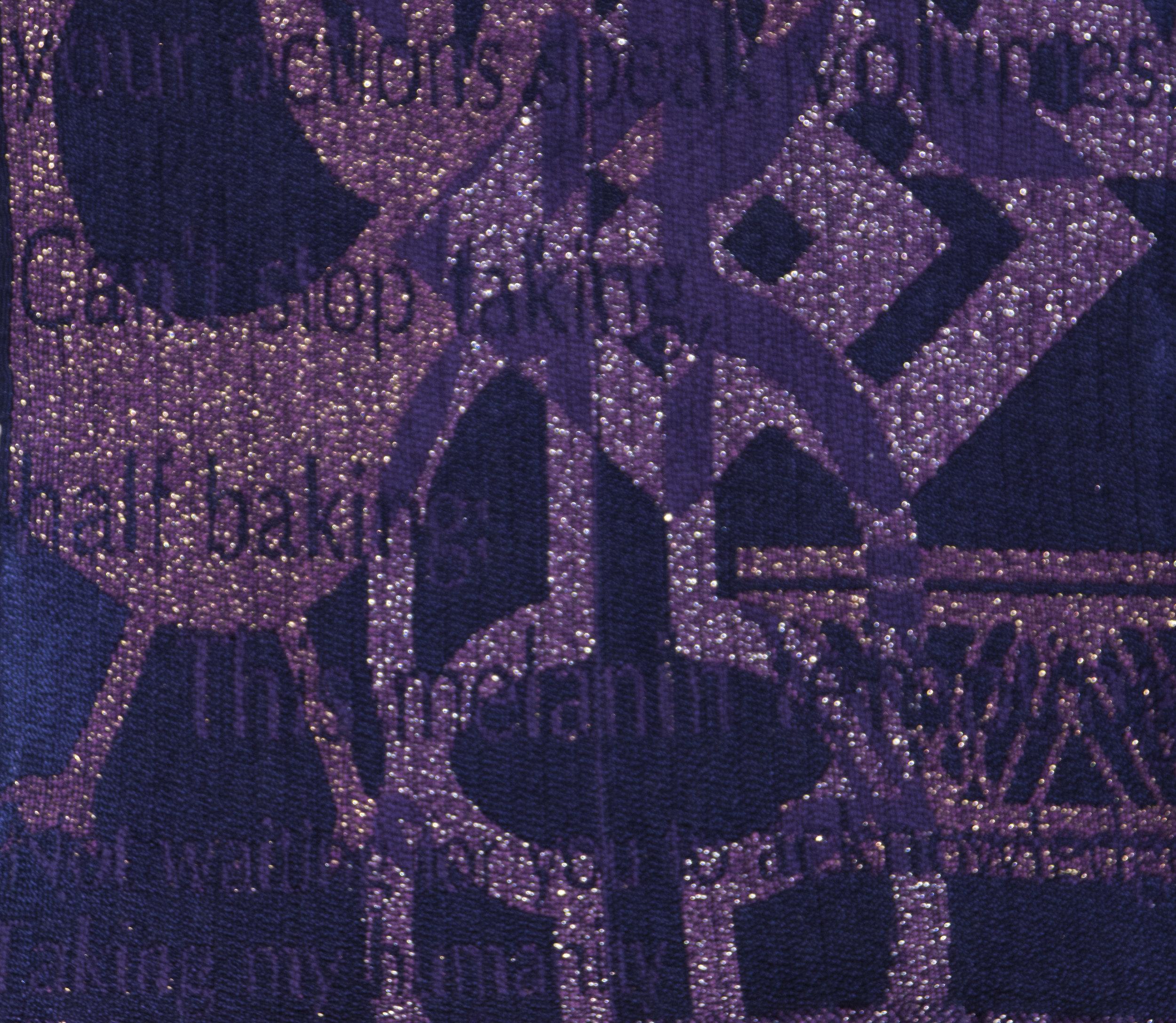 Blown Dissonance (detail purple)
