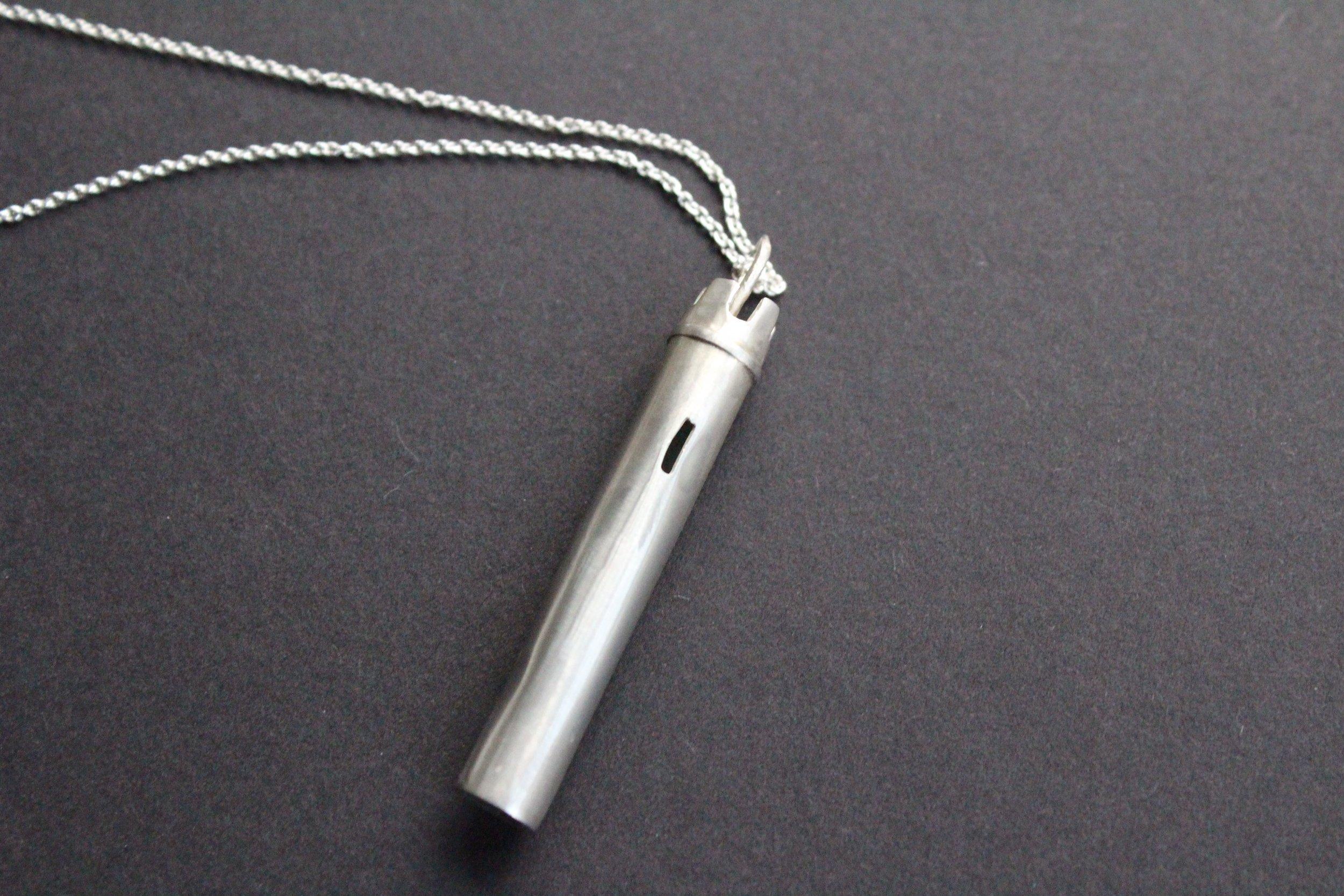 Silver: 43mm x 7mm diameter