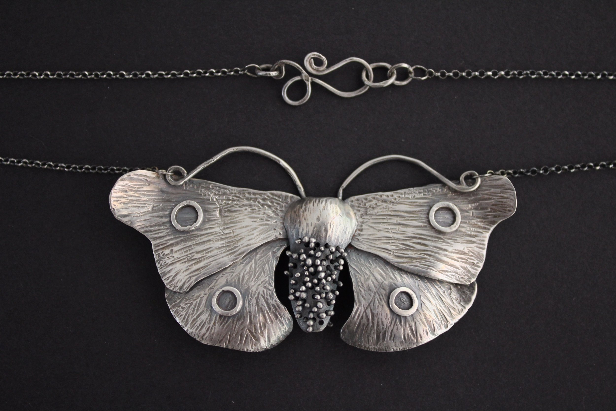 Goth Moth Necklaces