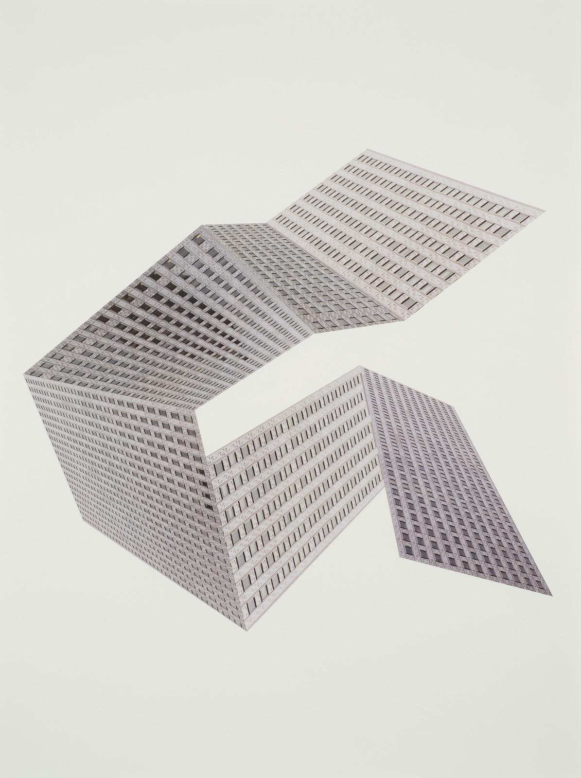 Katsuhiro Saiki, Buildings For New York City #9, 2011-2014