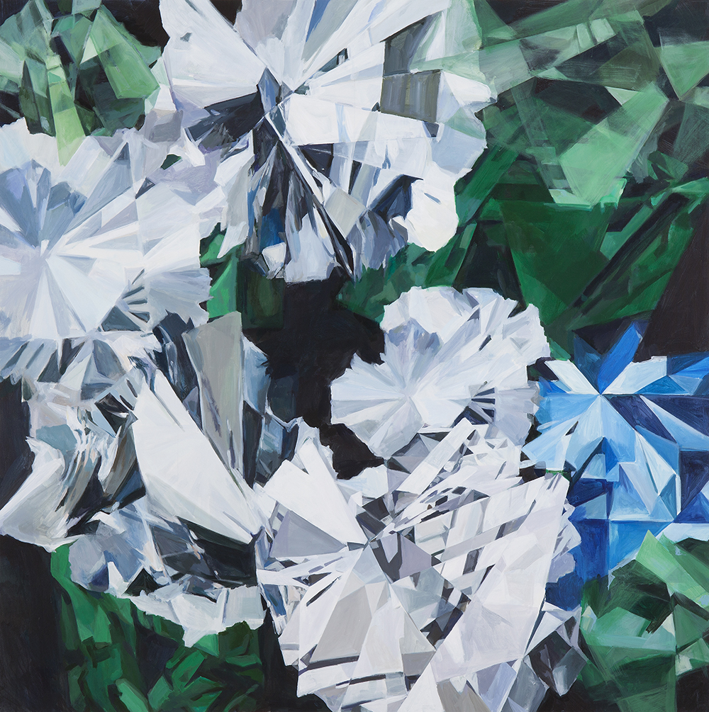 Chloe Keyoung, Poisonous Flowers (green), 2016
