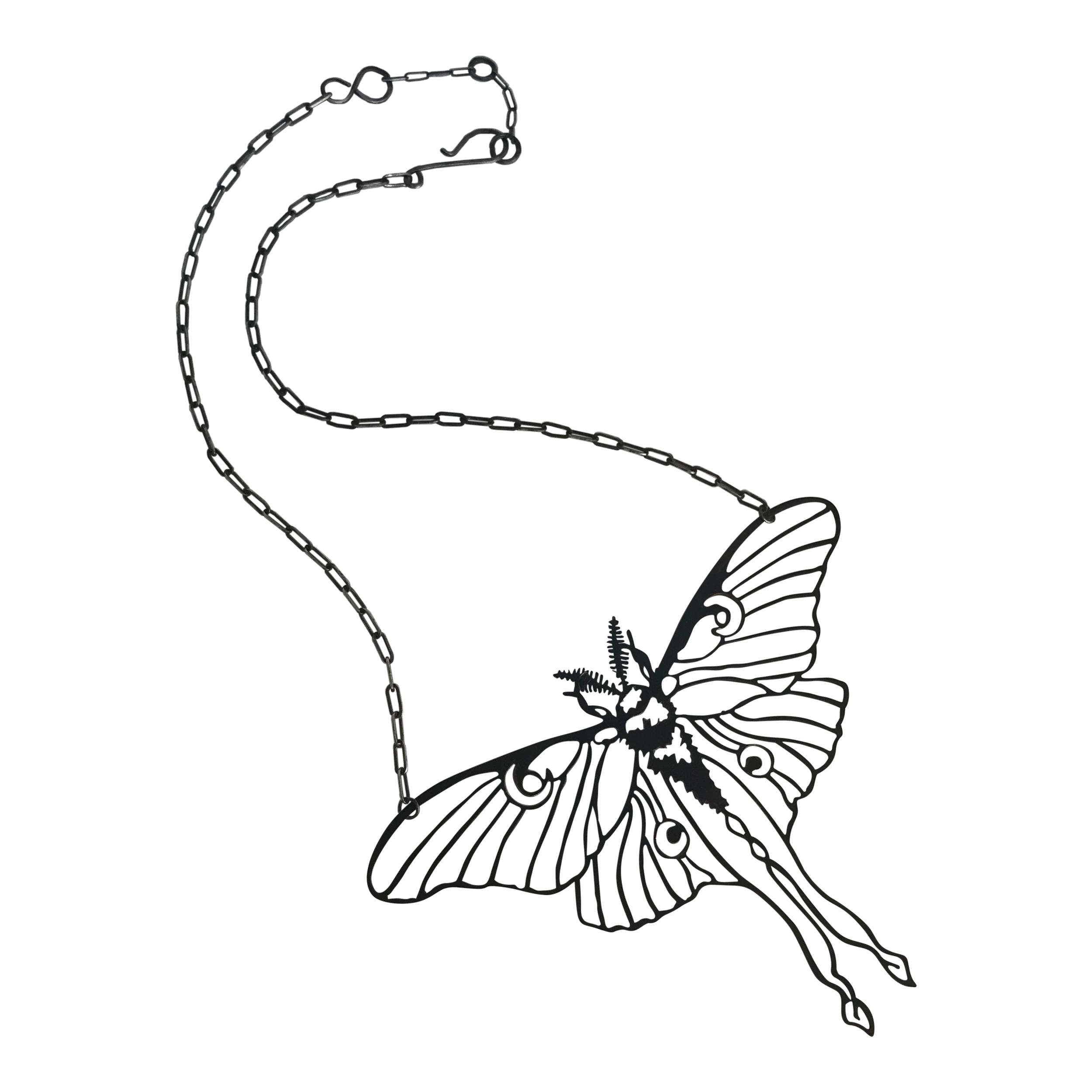 Cantilo,Icka,Square of the Bone_Luna moth Necklace.jpg