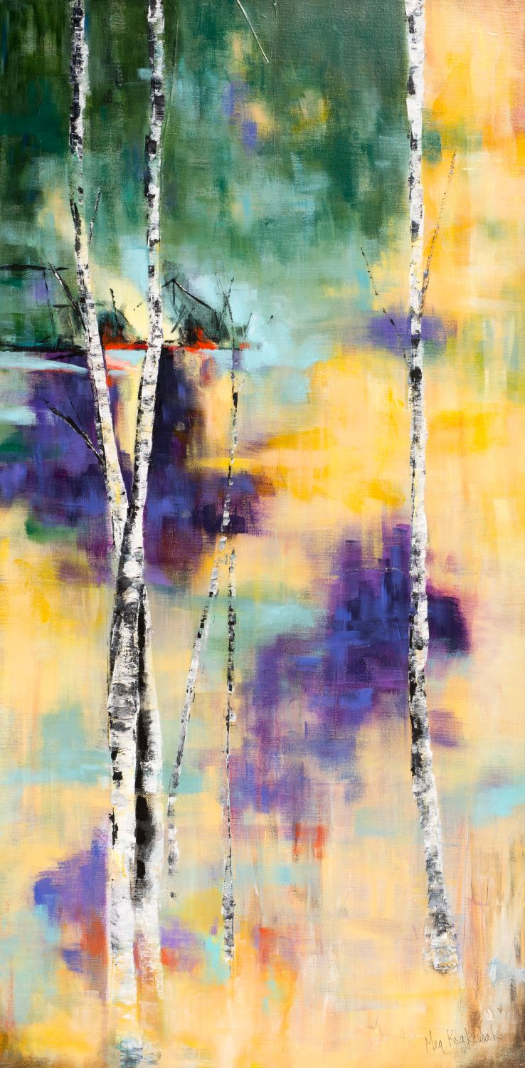 Morning Forest - 24x48 (SOLD)