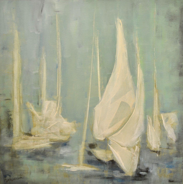 Linen Sails 20x20 (SOLD)