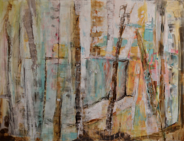 Birch Abundance - 36x48 (SOLD)