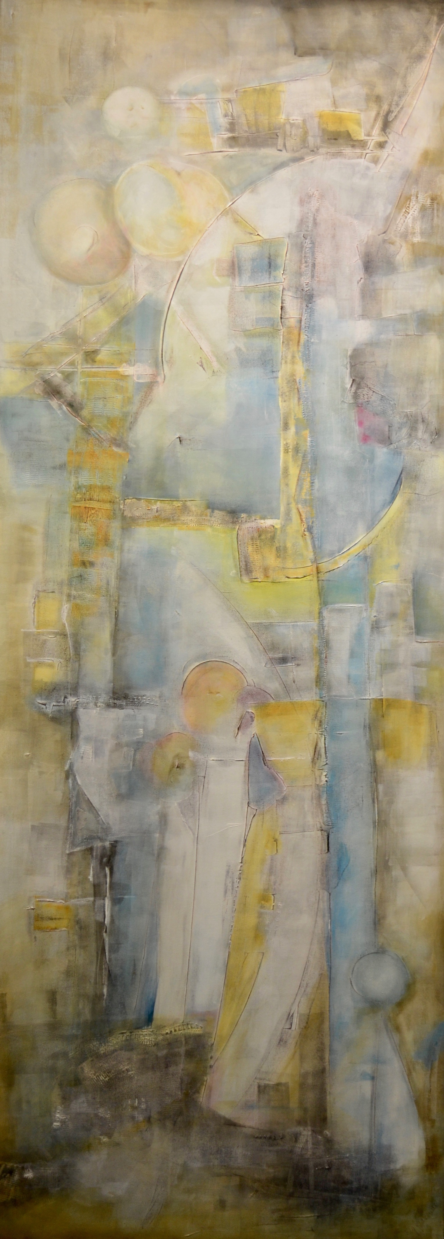 Sharing the Moon: 36x96 (SOLD)