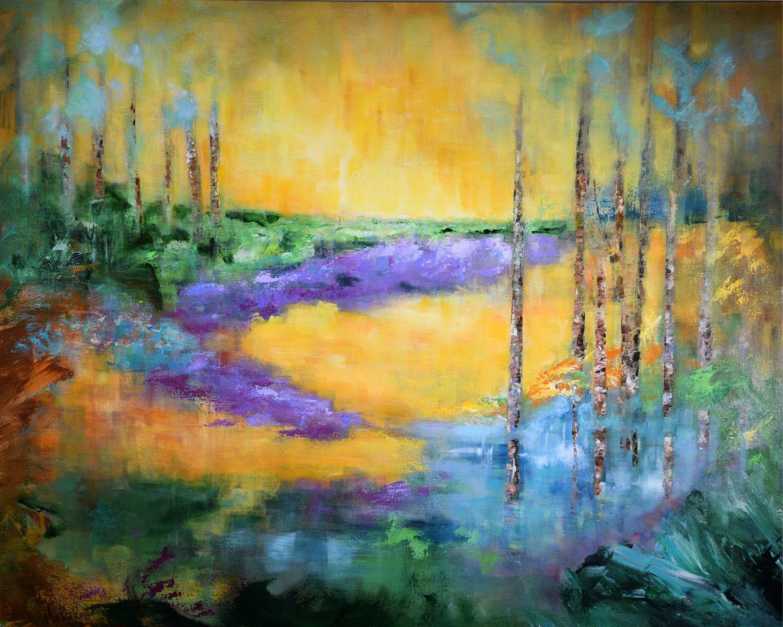Lavender Icing - 60x48