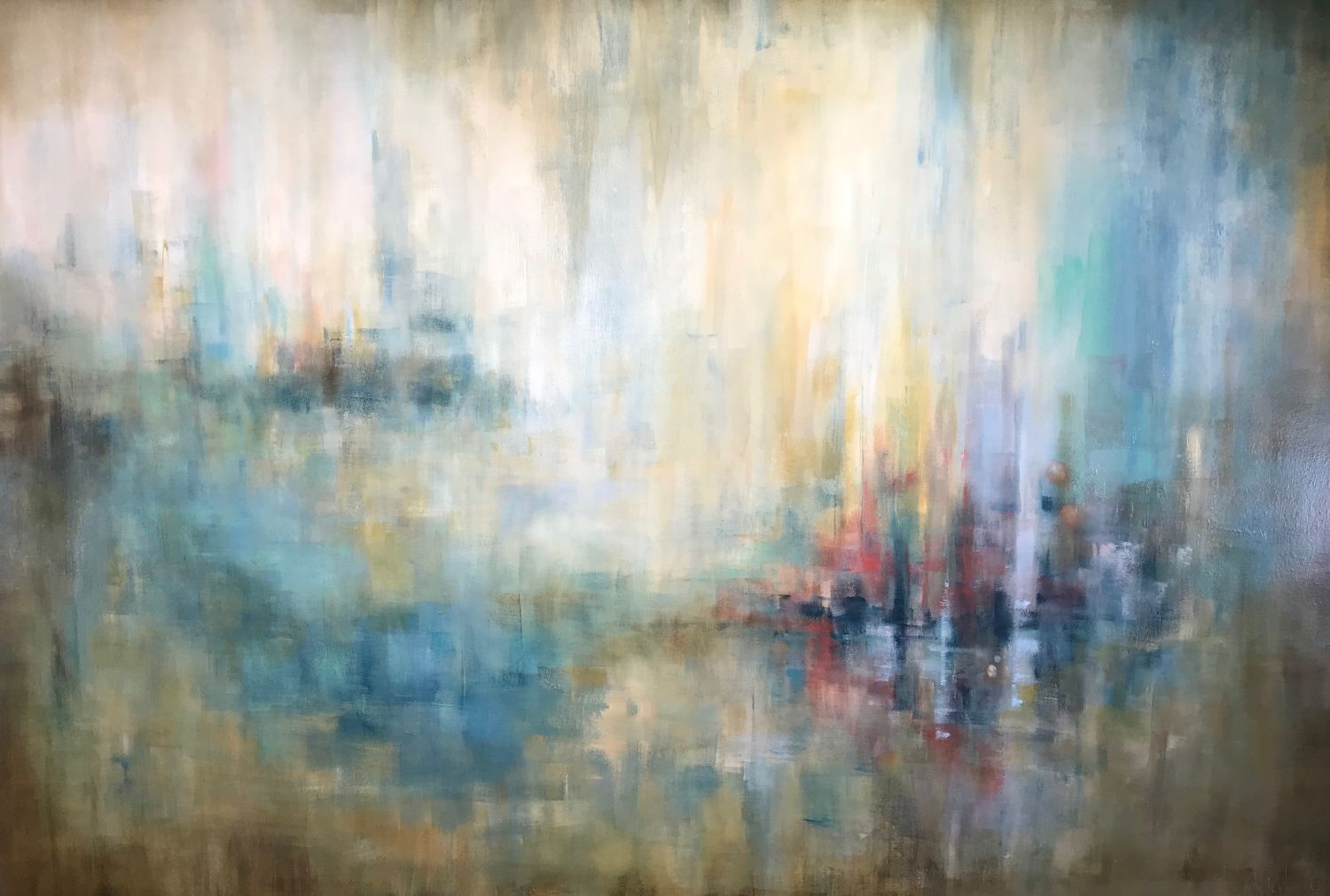 Moments of Reflection: 72x48 (SOLD)