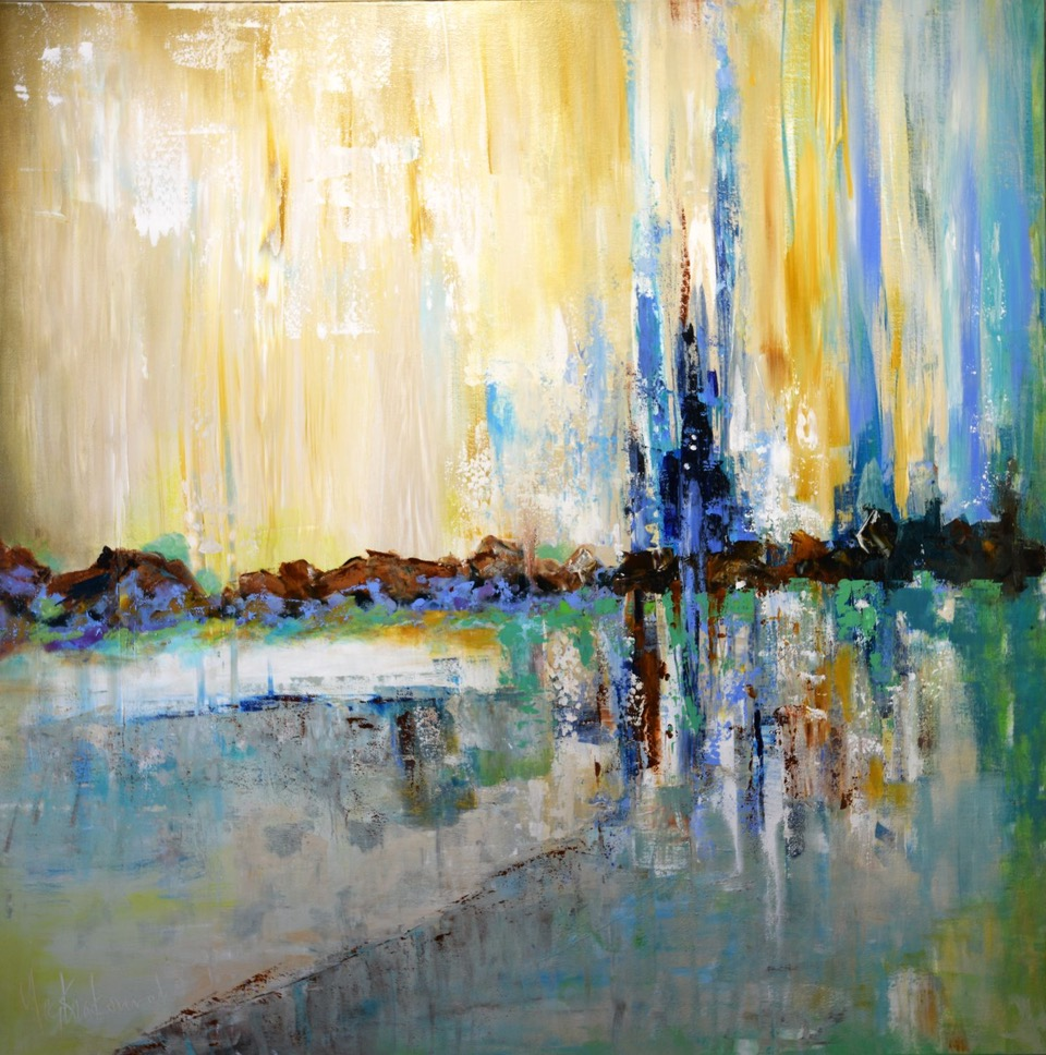 Showers of Color: 48 x 48