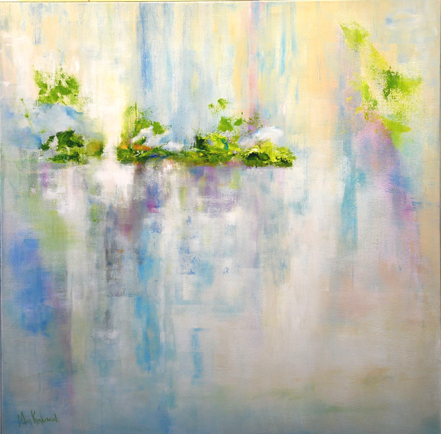 Peaceful Passage: 36x36