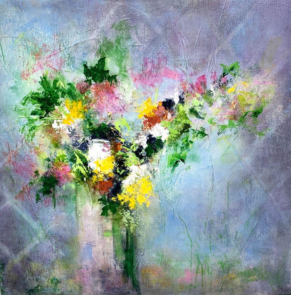 Spring Bouquet: 20x20