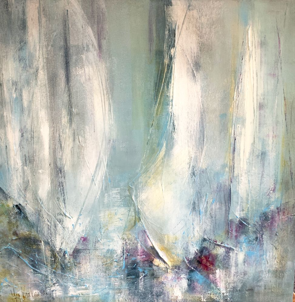 Flowing Sails: 20x20
