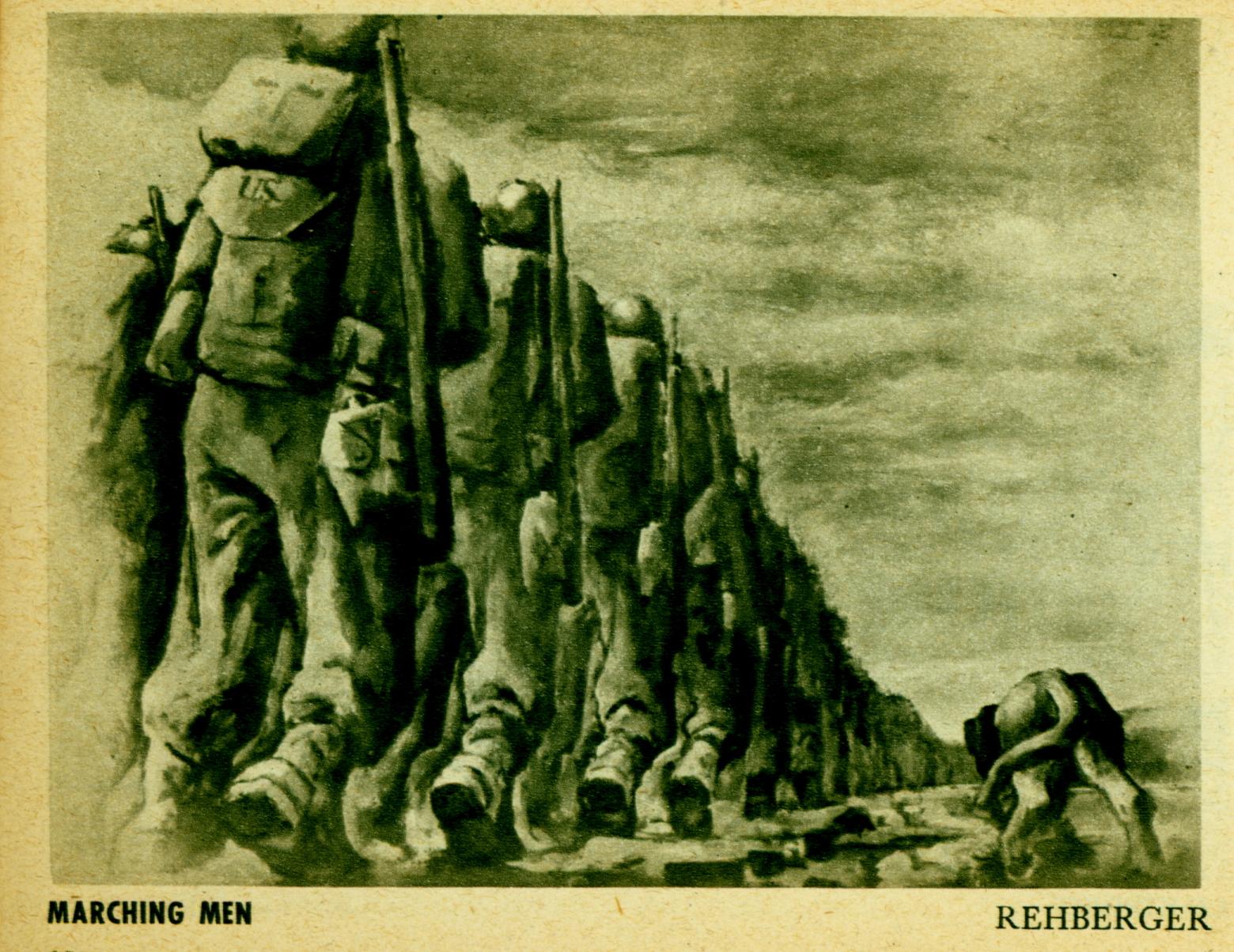G. I. Sketch Book - July 1944 Infantry Journal - Penguin Books