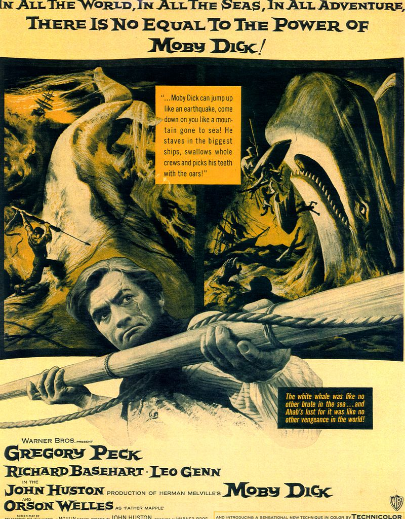 """Moby Dick"" starring Gregory Peck (Warner Bros.)"