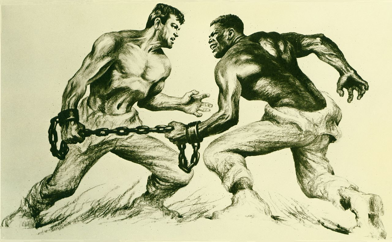 """""""The Defiant Ones"""" starring Tony Curtis & Sidney Poitier (United Artists)"""