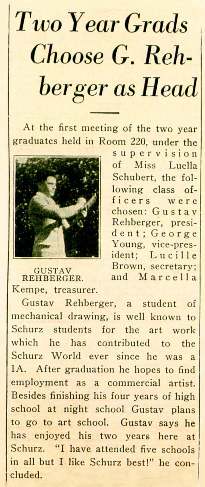 1929 - The Literary Dijest - Carl Schurz High School