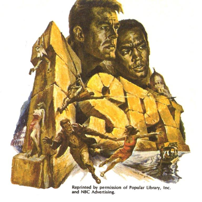 1966 - NBC Advertising (Robert Culp, Bill Cosby)