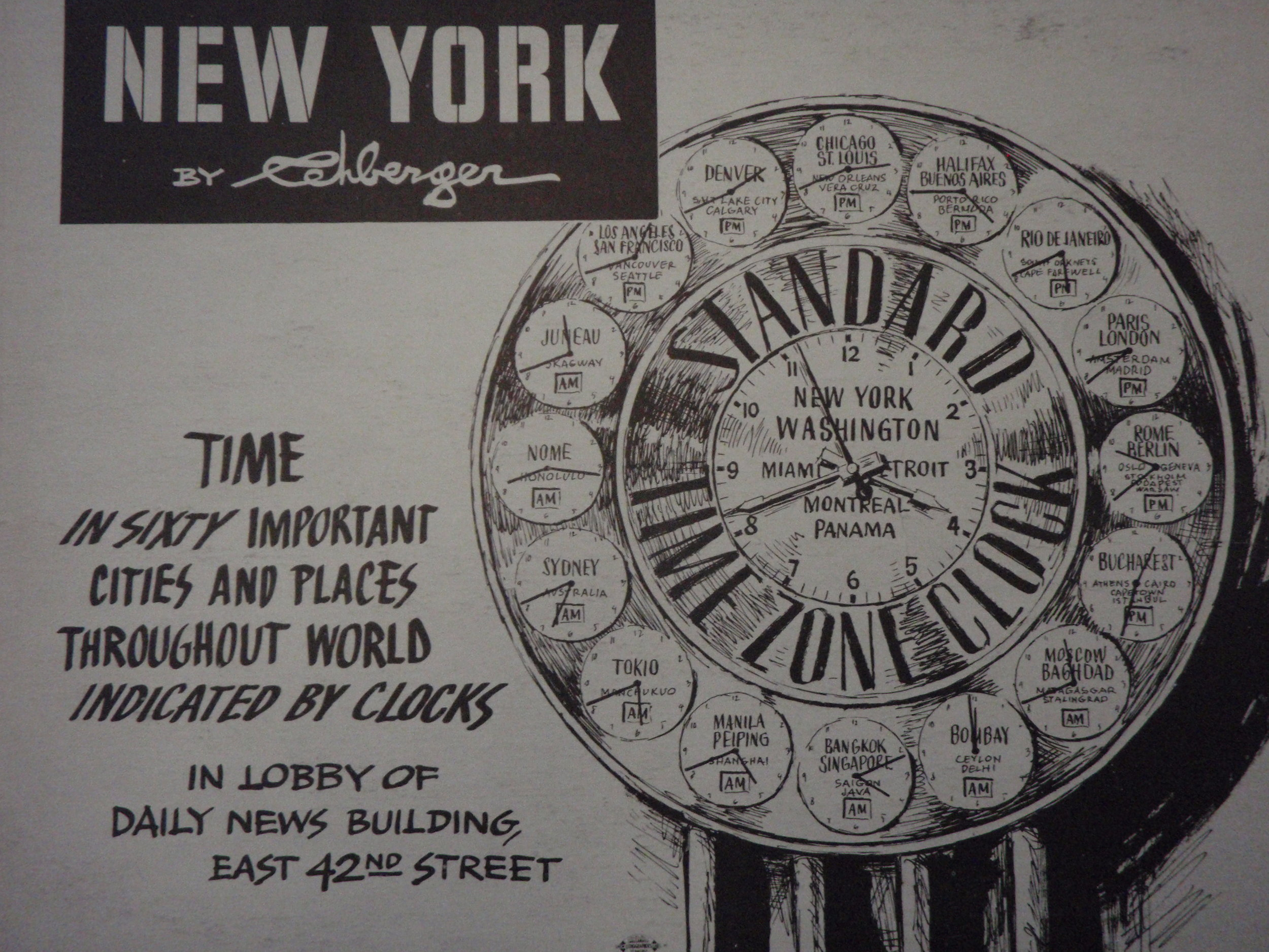 NEW YORK by REHBERGER  1948 #13    Subway Poster  - New York Subways Advertising Co..JPG