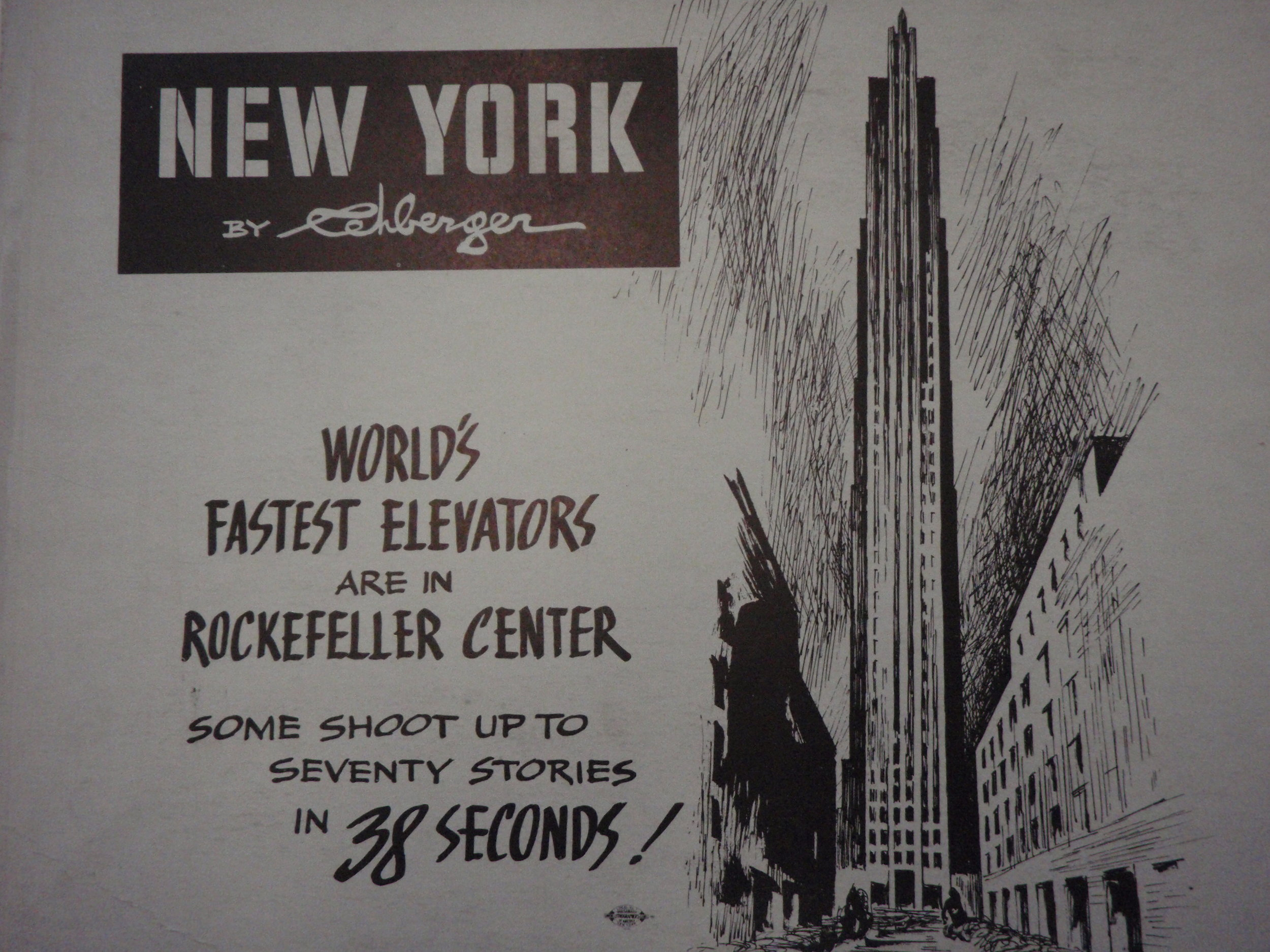 NEW YORK by REHBERGER 1948 #17   Subway Poster  -  New York Subways Advertising Co..JPG