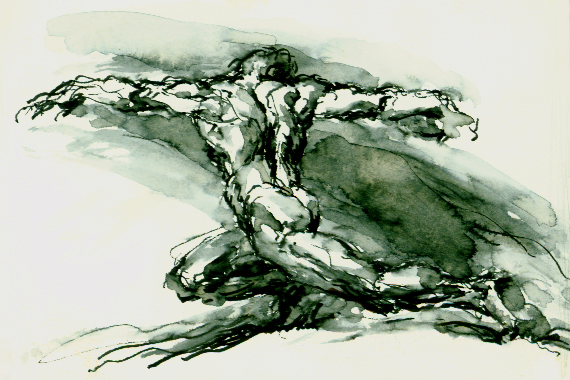 """<font size='3' font color='gray'><p id=""""myP"""" style=""""text-transform:capitalize"""">Discus Thrower  (pen & ink, wash, 4 x 6)</p>"""